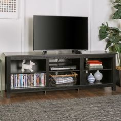 Looking for New 70 Inch Wide Driftwood Finish Television Stand ? Check out our picks for the New 70 Inch Wide Driftwood Finish Television Stand from the popular stores - all in one. Tv Stand Decor, Tv Decor, Home Decor, 70 Inch Tv Stand, Farmhouse Tv Stand, Modern Farmhouse, Farmhouse Ideas, Tv Entertainment Centers, Entertainment System