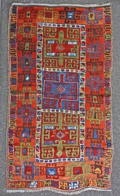 rare east anatolian kurdish rug, 195x106cm     This could easily be in my wish list too!