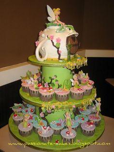 JK Lot de 6 d/écorations miniatures pour g/âteaux f/ée clochette d/écoration de jardin pour cupcakes