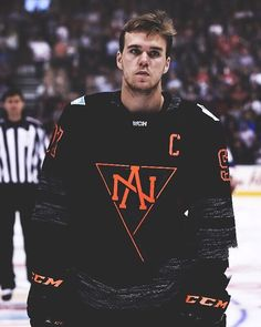 If you've ever experienced the pain of an emotionally dead relationship or if you've ever had a man suddenly pull away and shut you out. Captain of Team North America, Connor McDavid. Hockey Rules, Usa Hockey, Hockey Mom, Hot Hockey Players, Nhl Players, Basketball Motivation, Hockey Pictures, Connor Mcdavid, Hockey World Cup