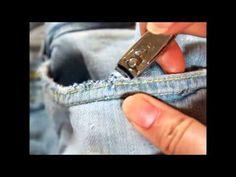 DIY: destroyed shorts/jeans - YouTube