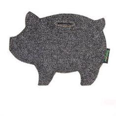 Simple Style Wool Felt Piggy Bank, Europe - DinoDirect.com