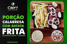 Confira mais uma porção deliciosa e especial do Capri Sport Bar! #vemprocapri