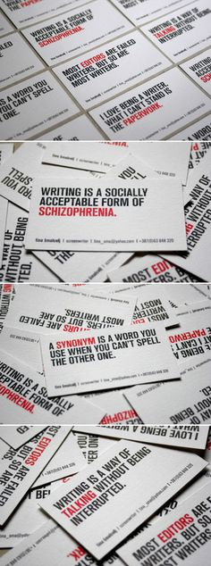 Business Card | Copywriter