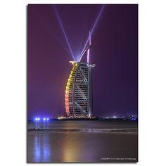 Burj Al Arab - برج العرب -The Purple Hour | Flickr - Photo Sharing! Daniel Cheong Dubai
