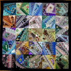 Crazy Quilting and Embroidery Blog by Pamela Kellogg of Kitty and Me Designs: Tutorial - How To Make Button Clusters