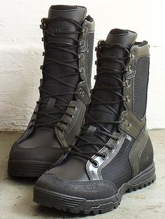 Armageddon 5.11 Recon Urban Boots ($150) A favorite of soldiers and search-and-rescue experts, 5.11 boots are light and require no break-in period. Which means they'll be good to go come judgement day.
