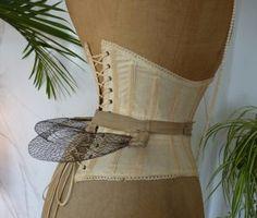 antique wire bustle pad