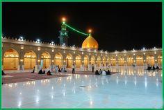 Великая мечеть в Куфе (Ирак) - священном городе для иракских шиитов. Построена в 7 в. и считается одной из самых ранних мечетей в исламе. У её михраба был убит Имам Али.