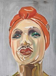 Amy Bessone Eunuch  2008  Oil on canvas  190.5 x 139.7 cm