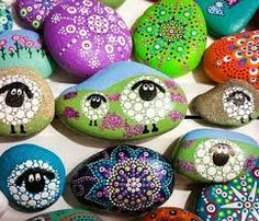 Image result for painted stones
