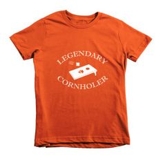 cornhole tshirt for kids