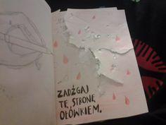 Podesłała Dominika Mielniczuk #zniszcztendziennikwszedzie #zniszcztendziennik #kerismith #wreckthisjournal #book #ksiazka #KreatywnaDestrukcja #DIY