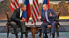 Putin and Obama face off Over Syria