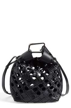 3.1 Phillip Lim 'Quill' Woven Leather Bucket Bag available at #Nordstrom