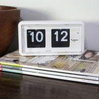 Jadco QT30 Flipcard Clock on desk