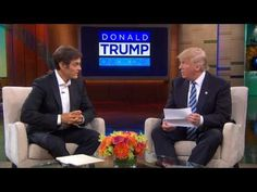 Trump Shows Some Medical Records on 'Dr. Oz Show' - https://cybertimes.co.uk/2016/09/14/trump-shows-some-medical-records-on-dr-oz-show-2/