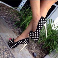 Beige Square Cut Out Pump Heels Patent $36.99