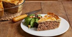 How do I make a tourtiere? This is the most delicious and authentic french meat pie recipe! A holiday classic this is the best Tourtiere Recipe. French Meat Pie, Pie Recipes, Cooking Recipes, Recipies, Dinner Recipes, Cooking Ideas, Casserole Recipes, Fall Recipes, Recipes