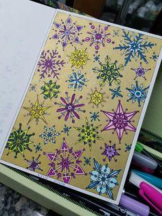 Vinterdrommar coloring book, colorido por @lelescristiane
