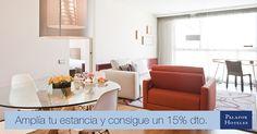 Planea tu próxima escapada a Zaragoza y consigue un 15% de descuento al reservar 3 noches o más en el Hotel Reina Petronila.