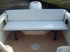 Anyone add seating to a Walkaround? Page: 1 - iboats Boating Forums | 387788
