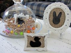 Organized Clutter: 2012 Easter and Spring Vignettes Revisited