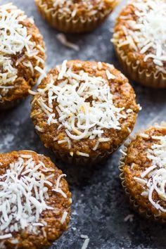 Coconut and Carrot High Protein MuffinsReally nice recipes.  Mein Blog: Alles rund um die Themen Genuss & Geschmack  Kochen Backen Braten Vorspeisen Hauptgerichte und Desserts # Hashtag
