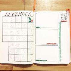 December's spread   #bulletjournal #tombow #stationery #leuchtturm1917 #Dec2016 #bujo #monthlyspreads