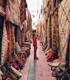 The souks of Essaouria ~~ MOROCCO // Photo by Emily Hutchinson - emelinaah