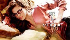 She's in Vogue #okulary #glasses #eyewear #eyeglasses #oprawki #vogue
