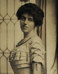 "Eleanor ""Nellie"" Wilson (1889-1967), daughter of Woodrow and Edith Wilson"