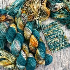 8 available ~This colorway was dyed the same way as the When Autumn