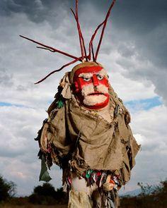 Gule Wamkulu Mask, Nyau secret society from the Chewa in Malawi