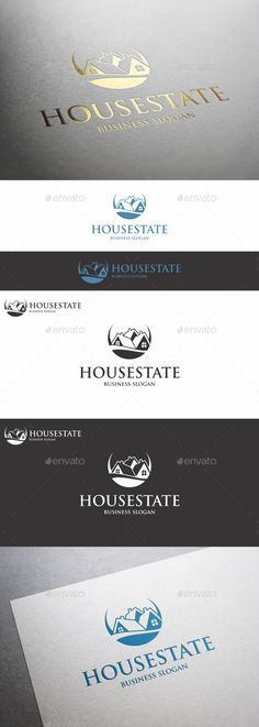 House Estate Logo – This is a clean and elegant Real estate logo. Professional and elegant logo suitable for construction, real estate, realty, mortgage, property business, building company, builders, hotel and resort business, etc. It stands out and instantly recognizable. Perfect for Property seller or buyers, properties management, rent service, Housing agents, mortgage or home developers.
