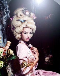 Marie Antoinette by NZiegler Makeup.