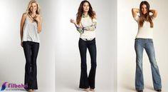 İspanyol paça geçtiğimiz sezondan bu yana modaya yeniden giriş yaparak trend haline geldi . Bu yaz dönemi her yerde görmeye başladığımız İspanyol paça modası sezonun gözde trendi oldu . 70′li yılların havasını çağrıştıran ispanyol paça pantolonlar gardrobumuzun vazgeçilmez  bir parçası haline geldi. Hem yüksek hem düşük bel pantolonlarda karşımıza çıkan ispanyol paçalar 2013 sezonunda da vitrinlerde ki yerini alacak. Bell Bottoms, Bell Bottom Jeans, Suits, Fashion, Moda, Outfits, Fashion Styles, Bell Bottom Pants, Suit