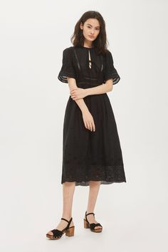 Broderie Midi Dress - New In Fashion - New In - Topshop Europe