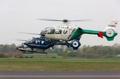 Police Helicopter Germany: Bavaria, Federal and Hesse