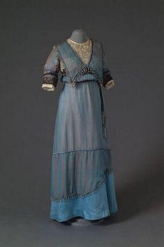 Dress, 1914-1918, Mode Museum.