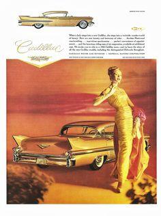 1958 Cadillac Sedan de Ville advertisement