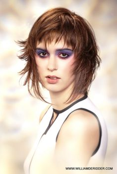 The Edge summer collection by William De Ridder Photo P Verbruggen Make up Mud by V.Bossuyt Products Xg Color Paul Mitchell