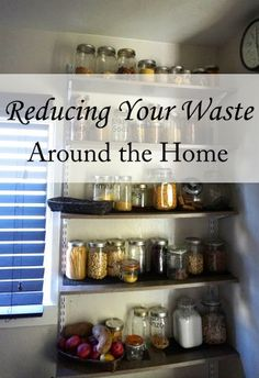 10 tips for reducing your waste around the home easily! The Homesteading Hippy #homesteadhippy #fromthefarm #lesstrash