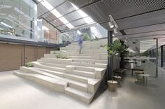 Work-Studio in a Plant-House by O-office Architects Guangzhou China
