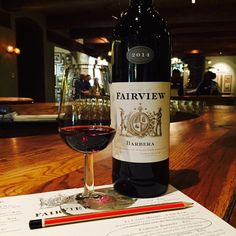 We're pouring our Fairview Barbera 2014 in our tasting room. Dark fruits with fynbos, cloves and nutmeg followed by hints of violets. A smooth and well- balanced palate with plum flavours. Cheers!  #Barbera2014 #FairviewWine #FairviewPaarl #Fynbos #TastingRoom #Cheers South African Recipes, Tasting Room, Violets, Cheers, Plum, Smooth, Wine, Fruit, Dark