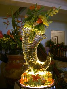 Ice Sculpture..Cornucpoia