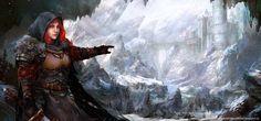 Winter Warrior by Allnamesinuse.deviantart.com on @DeviantArt