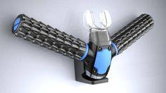 Il design Jeabyun Yeon ha disegnato uno strumento che  avvicina l'uomo ai pesci. Almeno per come le due specie respirano  sott'acqua. Si chiama Triton e estrae ossigeno dall'acqua utilizzando un  filtro ultrasottile con buchi più piccoli delle molecole d'acqua. Una  specie di branchia insomma