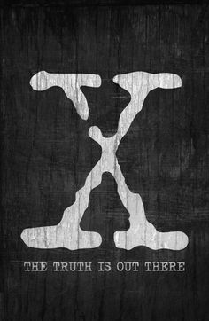 The X-Files (1993–2002) ~ Minimal TV Series Poster by Begum Ozdemir #amusementphile