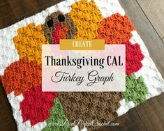 Need a quick and easy Thanksgiving decor crochet project? Check out this Turkey crochet graph to help you craft the perfect holiday-inspired pillow project.